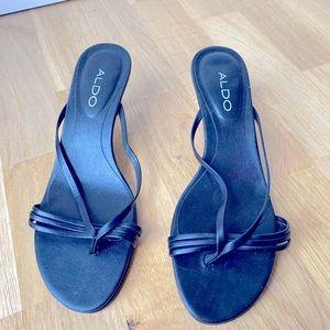 Aldo Kitten Heel Sandals
